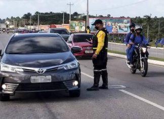 Detran registra 124 infrações por direção sob a influência de álcool em Salinópolis